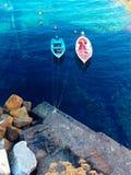 Miłość łodzie zdjęcie royalty free