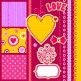 Miłość świstek Zdjęcia Stock