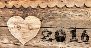 Miłość 2016 Obrazy Royalty Free