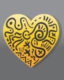 miłość abstrakcjonistyczny symbol Zdjęcie Royalty Free