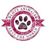 Miłość Animals ilustracja wektor