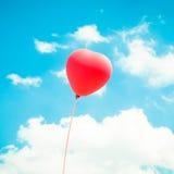 Miłość balon Fotografia Royalty Free