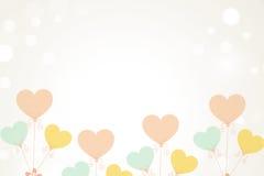 Miłość balon Obrazy Royalty Free