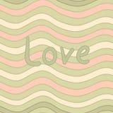 Miłość bezszwowy wzór ilustracji