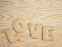 Miłość ciastka obrazy royalty free