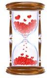 miłość czas ilustracja wektor