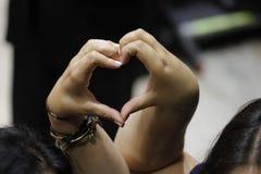 Miłość dla Bernie Sanders, Prezydencki wiec, Modesto CA Zdjęcie Stock