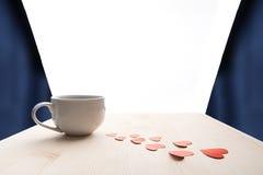 Miłość dla kawy Zdjęcia Stock