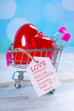 Miłość dla sprzedaży Obraz Royalty Free