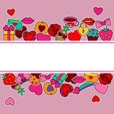 Miłość egzamin próbny Up Zdjęcia Stock