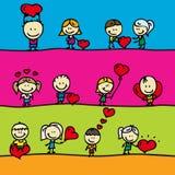 Miłość granicy Zdjęcia Stock