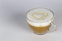 Miłość i kawa Zdjęcie Stock