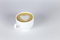 Miłość i kawa Obrazy Royalty Free