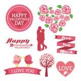 Miłość ikony Zdjęcie Royalty Free