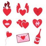 Miłość ikony Zdjęcie Stock