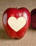 Miłość Jabłka Fotografia Stock
