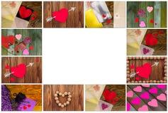 miłość jest dzień st serce walentynki Obraz Stock