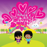 Miłość jest wszystko ty potrzebujesz Zdjęcie Royalty Free