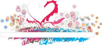Miłość jest wszystko wokoło tła Fotografia Stock