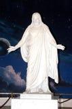 miłość Jezusa soli miasta jeziora. Zdjęcie Royalty Free