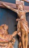 miłość Jezusa ukrzyżowano Obraz Royalty Free