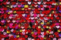 miłość kłódki Zdjęcia Stock