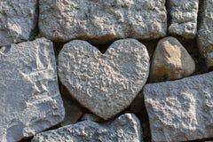 Miłość kamień zdjęcie royalty free