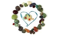miłość kamienie Obrazy Royalty Free