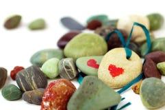miłość kamienie Fotografia Stock