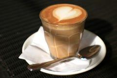 miłość kawowa Fotografia Royalty Free