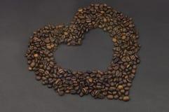 miłość kawowa Zdjęcie Royalty Free
