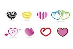 Miłość kierowy logo, symbol i ikona, Obrazy Royalty Free