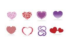 Miłość kierowy logo, symbol i ikona, Fotografia Royalty Free