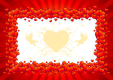 miłość kierowy symbol Obraz Royalty Free
