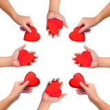 miłość konceptualny symbol Zdjęcia Stock
