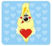 miłość królik Fotografia Stock