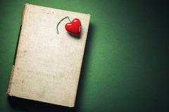 Miłość książka Zdjęcie Royalty Free
