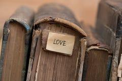 Miłość książki Zdjęcie Stock
