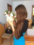 Miłość kwiaty Fotografia Stock