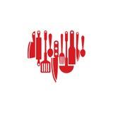 Miłość loga szablon ilustracji