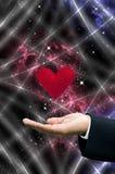 miłość mały wszechświat Fotografia Royalty Free