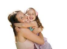 Miłość - matka i dziecko Fotografia Royalty Free