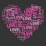 miłość menchie Obrazy Stock