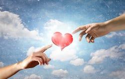 Miłość między dwa fotografia stock