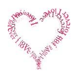 miłość na zawsze royalty ilustracja