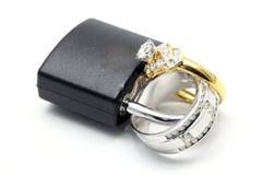 miłość na zawsze pierścionek wpólnie zdjęcia stock