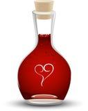 Miłość napój miłosny Obrazy Stock