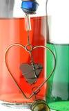 Miłość napój miłosny Fotografia Stock