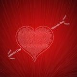 Miłość odnosić sie formułuje pojęcie Obrazy Royalty Free