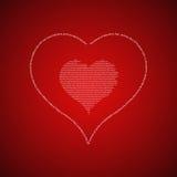 Miłość odnosić sie formułuje pojęcie Zdjęcia Royalty Free